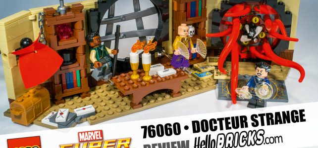 76060 le sanctuaire du docteur Strange Hellobricks review lego