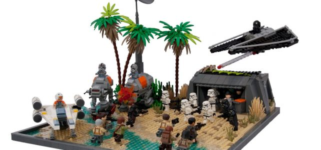 Star Wars Rogue One LEGO Microfighters Attack