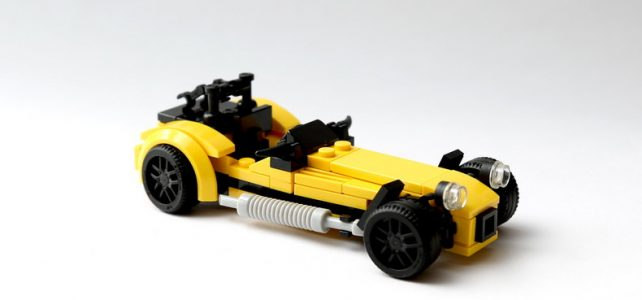 Caterham Seven version LEGO City