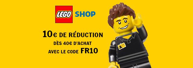Code promo LEGO Shop