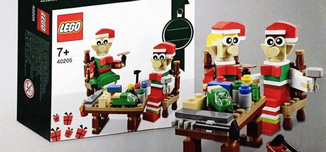 LEGO 40205 Seasonal de Noël : premier aperçu