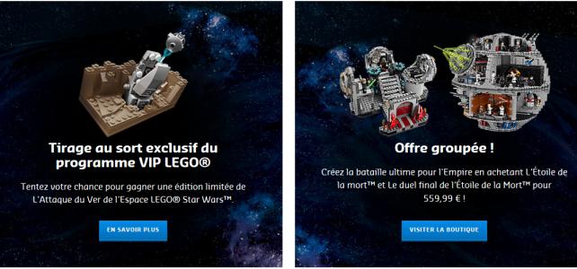 LEGO 75159 Death Star Kit ultime et tirage au sort exclusif