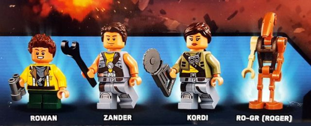 LEGO Famille Freemaker