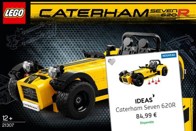 LEGO Ideas 21307 Caterham Seven 620R
