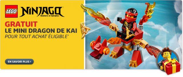 Nouveautés LEGO Septembre - polybag Ninjago LEGO 30422 Dragon