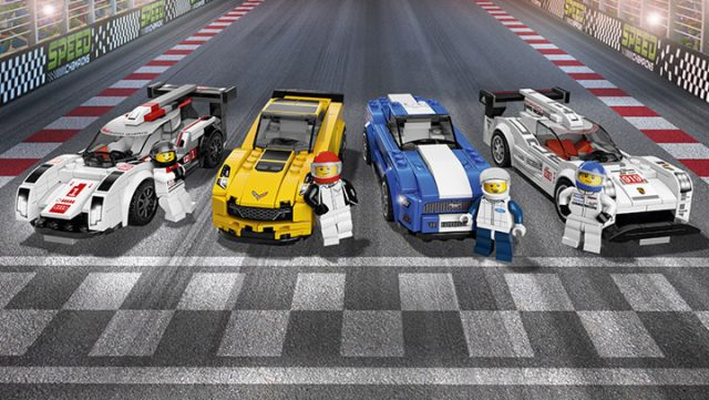 LEGO Speed Champions 2017