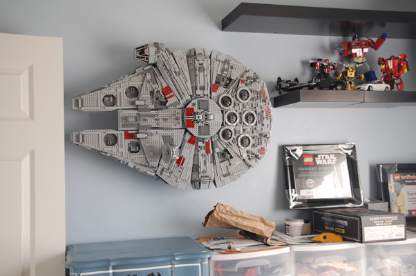 LEGO Star Wars UCS 10179 wall display