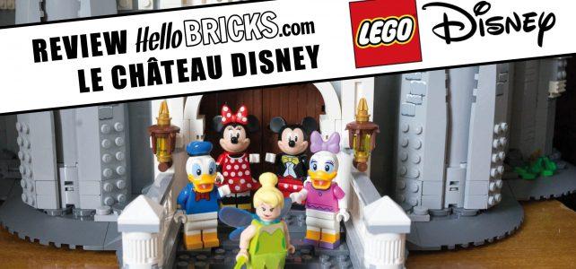 Lego 71040 review Disney Castle