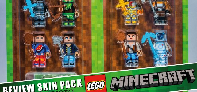 Review Lego Minecraft Skin Pack