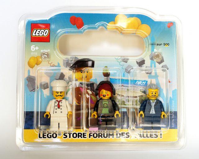 REVIEW LEGO Pack de minifigs Grand Opening LEGO Store Forum des Halles