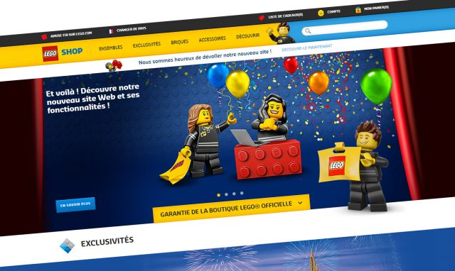 Shop@Home nouvelle boutique officielle LEGO