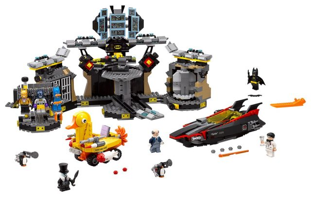 The LEGO Batman Movie 70909 The Batcave