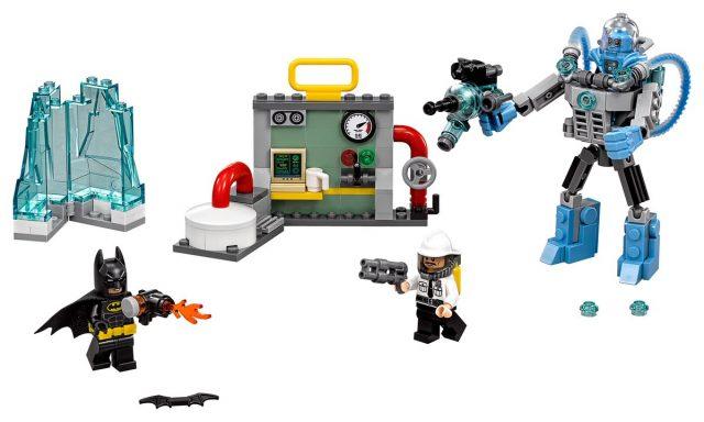 The LEGO Batman Movie 70901 Batman vs Mr Freeze