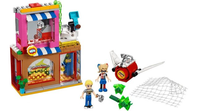 LEGO DC Super Hero Girls 41231 Harley Quinn's Cafe Rescue