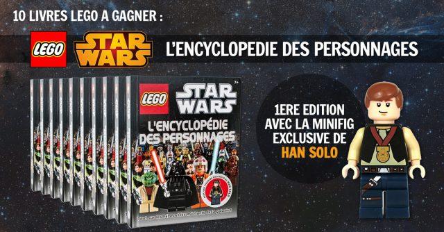 Concours Livre LEGO Star Wars