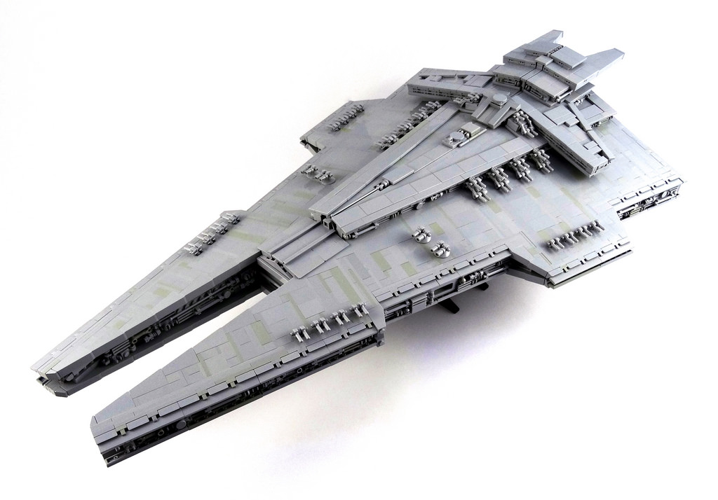 Harrower-class Dreadnought Star Destroyer - HelloBricks ...