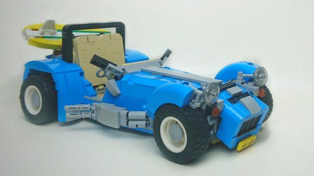 LEGO 21307 Caterham Seven version 10252 VW Beetle