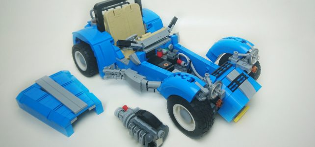 LEGO 21307 Caterham Seven version 10252 VW Beetle