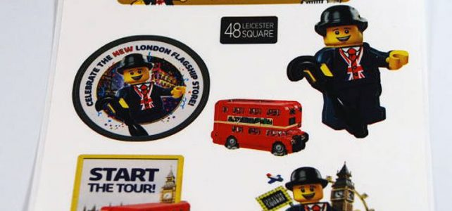 LEGO 40220 Mini London Bus stickers