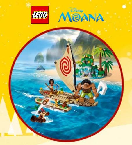LEGO Disney Vaiana 41150 Moana on the High Seas