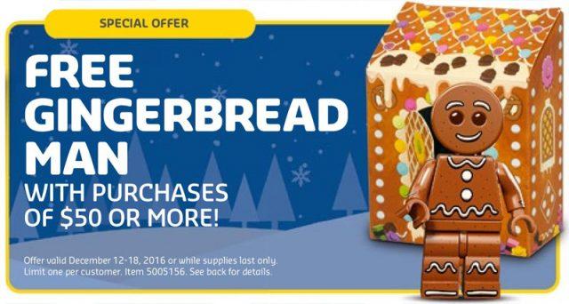 LEGO Gingerbread Man (5005156) bonhomme pain d'épice