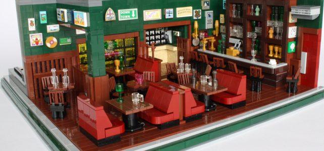 LEGO How I met your mother McLaren's Pub