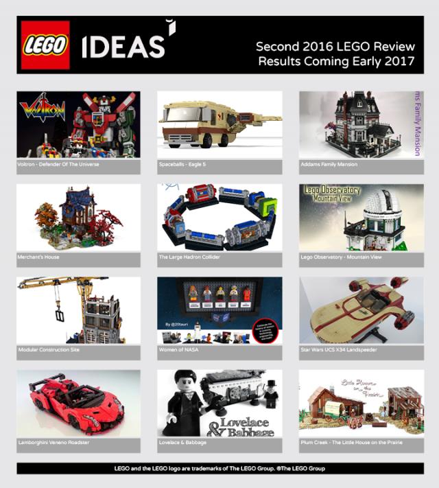LEGO Ideas 2016 vague 2