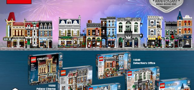 LEGO Rebrick challenge Modular