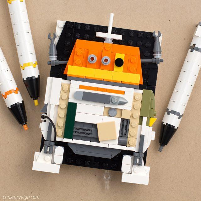 LEGO Star Wars droïdes Chopper