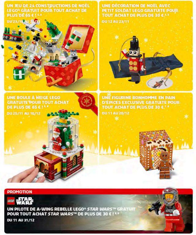 LEGO Store Calendar Noel 2016
