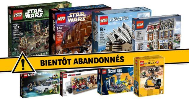 LEGO retired sets