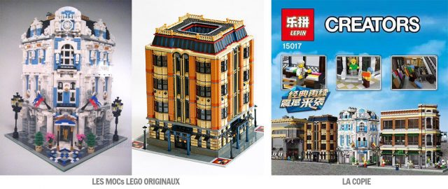 LEPIN copies LEGO fans creations