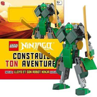 Livre LEGO Ninjago Construis ton aventure