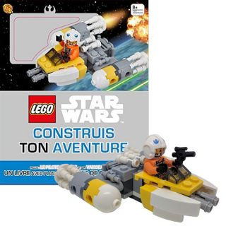 Livre LEGO Star Wars Construis ton aventure