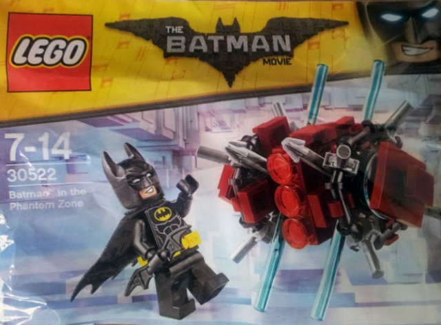 Polybag The LEGO Batman Movie 30522 Batman in the Phantom Zone