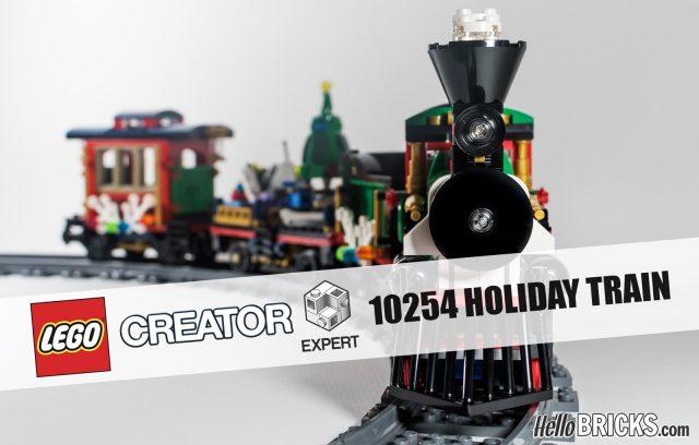 REVIEW LEGO 10254 Winter Holiday Train par HelloBricks