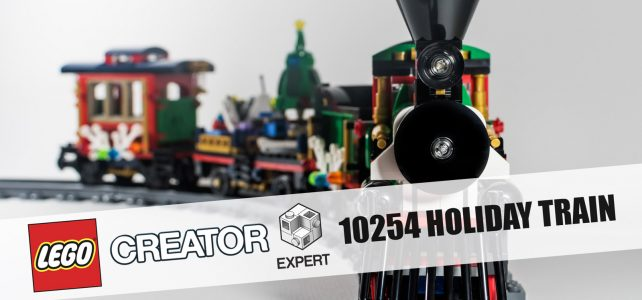 REVIEW LEGO 10254 Winter Holiday Train par HelloBricks