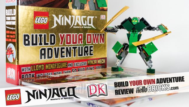 Review Livre LEGO Ninjago DK Build Your Own Adventure