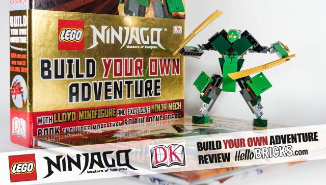 Review Livre LEGO Ninjago DK Build Your Own Adventure