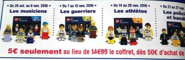 Minifigs Toys R Us