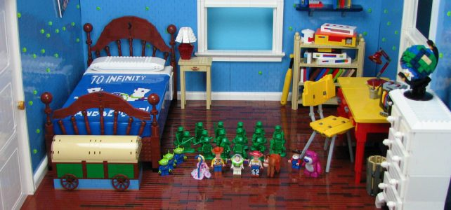 Toy Story, la chambre d'Andy