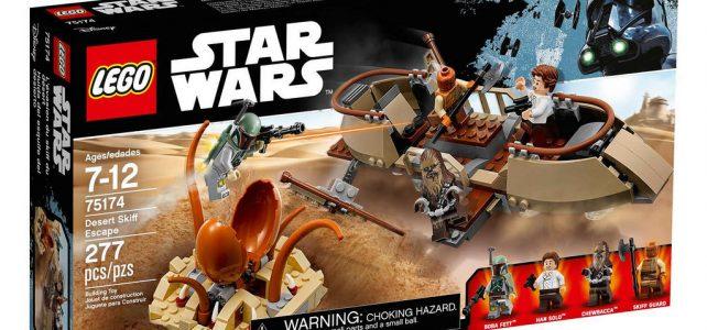 LEGO Star Wars 75174 Desert Skiff Escape