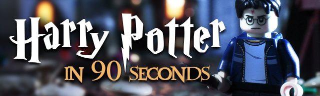 Brickfilm LEGO Harry Potter in 90 seconds