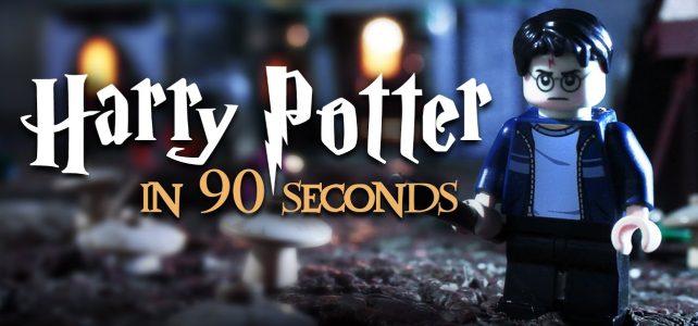 Brickfilm : la saga Harry Potter en 90 secondes