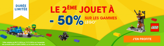 King Jouet LEGO Promotion