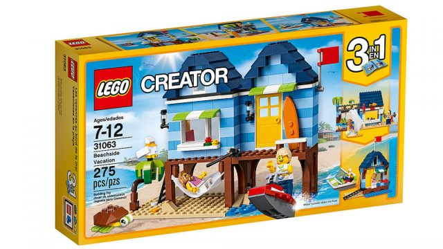 Nouveautés LEGO Creator 2017 LEGO 31063 Beachside Vacation