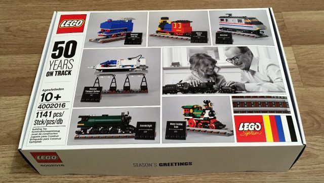 LEGO 4002016 50 Years on Track exclusive set