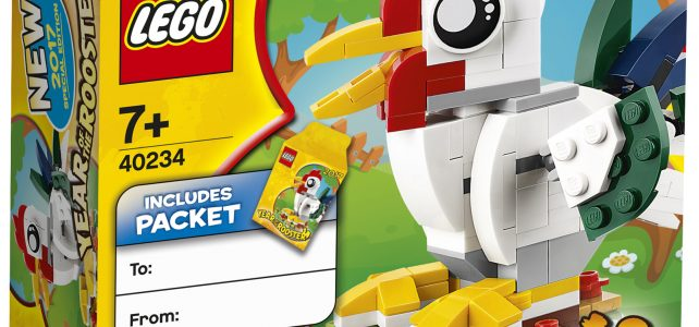LEGO 40234 Year of the Rooster (2017)