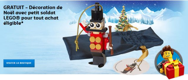 LEGO 5004420 Toy Soldier Ornament