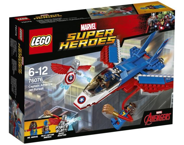 LEGO Marvel 2017 - 76076 Captain America Jet Pursuit